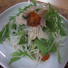 いくらでも食べられる!大根と水菜のサラダ
