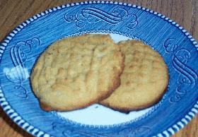 甘さ控えめピーナッツバタークッキー