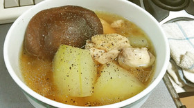 ■冬瓜のスープ■