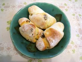 ホットケーキミックスとヨーグルトでパン