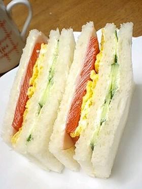 1日分の野菜をサンドイッチで♪
