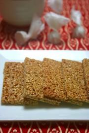 胡麻煎餅の写真