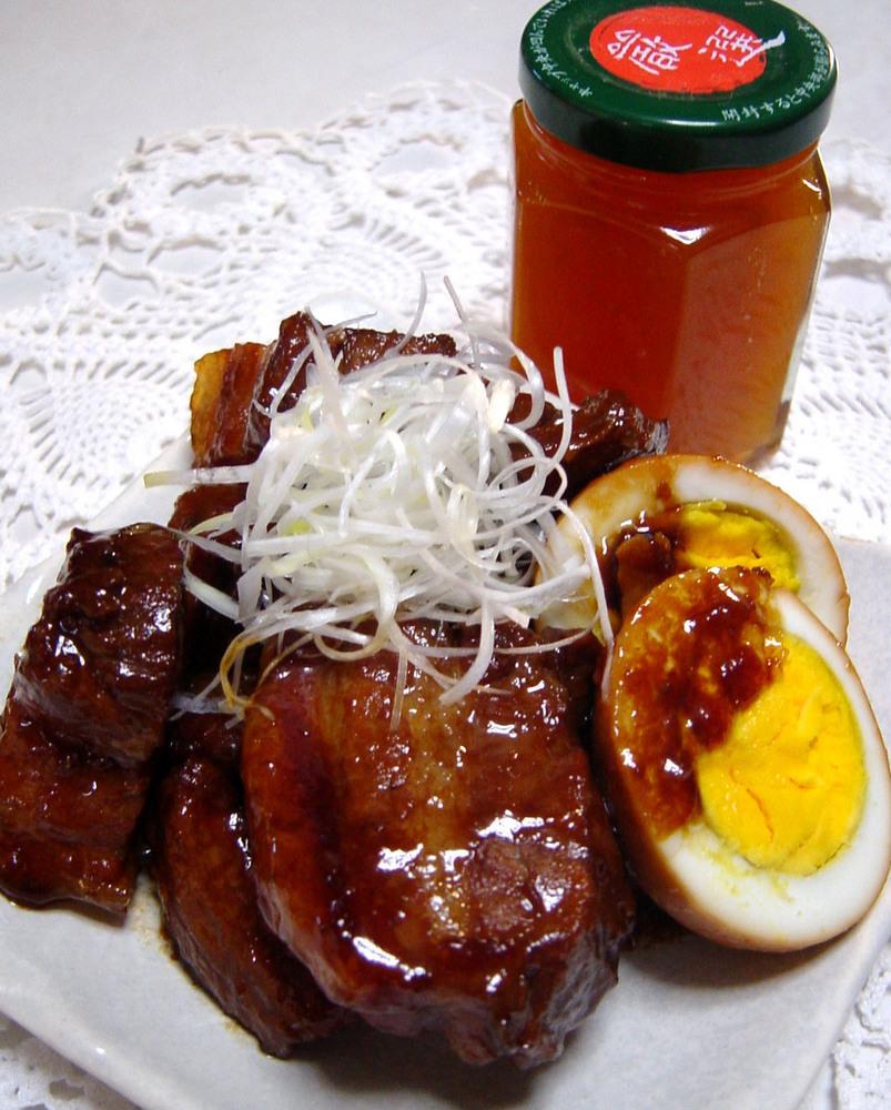 梅ジャムとハチミツ入り 豚の角煮