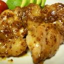 ✿鶏もも肉のハニーマスタードソース