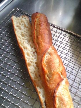オートリーズで作る強力粉のフランスパン
