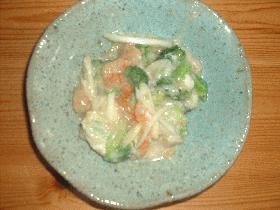 えびとブロッコリーの中華炒め