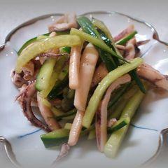 イカの中華サラダ。○☆