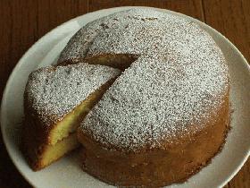 食べ切りサイズ シンプルに味わう二人のためのスポンジケーキ