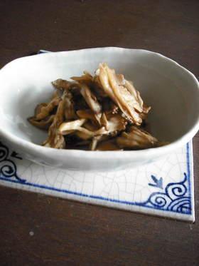 舞茸のポン酢炒め