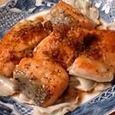 キャベツ甘〜い☆鮭ムニエルにんにく醤油