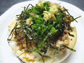 納豆豆腐(生姜味)