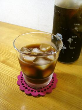 お茶パックde水出しコーヒー