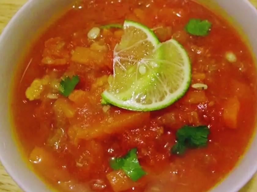 20分!メキシコ料理定番、ライムスープ