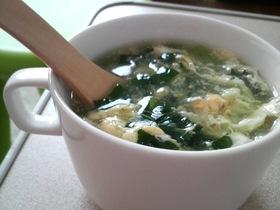 ほっこり☆とろとろ小松菜スープ