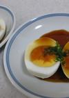 ゆで卵の甘酢あんかけ