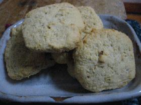 おからのピーナツバタークッキー