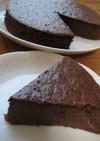 どっしり~♪チョコレートチーズケーキ