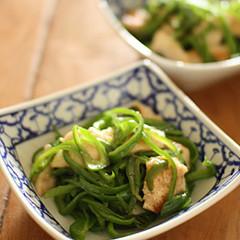 【簡単副菜】鶏ささみとピーマンの炒めもの
