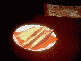 オーブントースターで焼きやきスイートポテト
