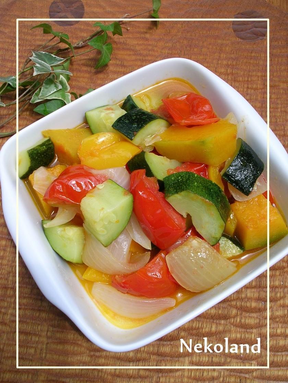レンジで簡単♫♬夏野菜のラタトゥイユ♡