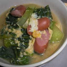 ちんげん菜のコンソメスープ