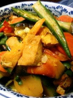 夏野菜、めっさとれる!カレー炒め