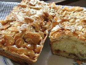 ダブルキャラメルバナナケーキ