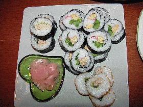 春の巻き寿司