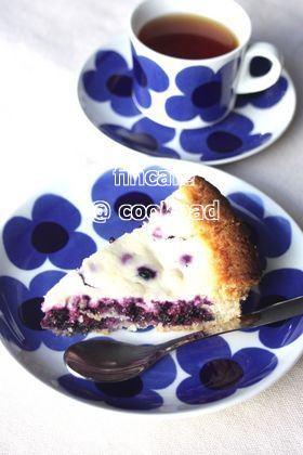 フィンランドのブルーベリーヨーグルトパイ