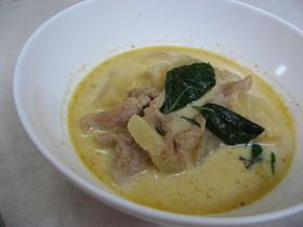 タイの豚肉とパイナップル★Red Curry