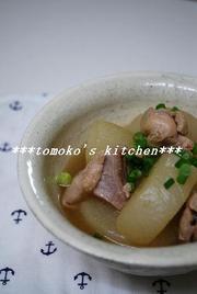 鶏肉と大根の ほっこり煮物の写真