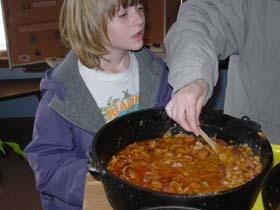 ガラガラヘビと豆の煮込み--RATTLESNAKE BEANS--