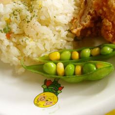 キャラ弁おかずに✿カラフルな枝豆ちゃん✿