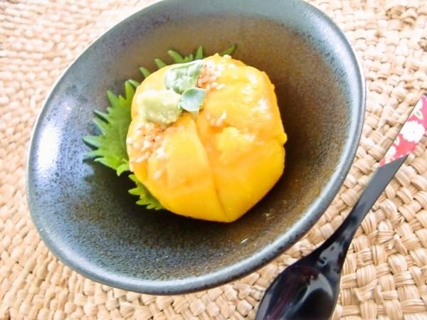 ~冷たいかぼちゃ豆腐~