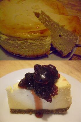 アメリカ人直伝の濃厚チーズケーキ