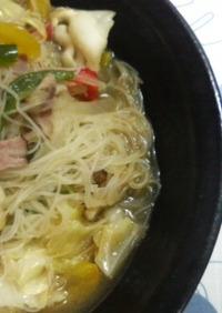 ♡濃い口スープの野菜たっぷりビーフン♡