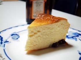 ミキサーで作る★こってりベイクドオレンジチーズケーキ