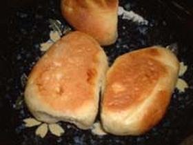 基本のパン生地で作ったバリエーションパン甘い編