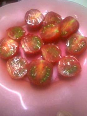 ♡簡単ひんやりトマトのマリネ風♡
