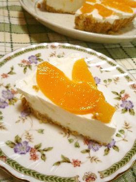 簡単 レアヨーグルトケーキ