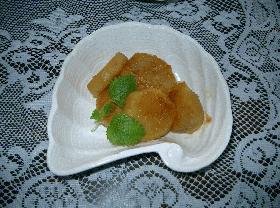 サツマイモご飯とサツマイモのレモン炒め