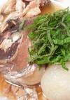 圧力鍋で鯛のあら煮