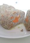 豆腐入りミートローフ