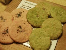 和風おからクッキー@ほんのり梅と抹茶