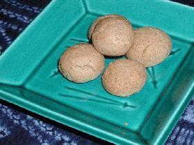ホロホロッ!ゴマときな粉のクッキー