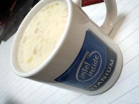 残ったみそ汁でミソスープ