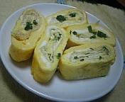❀お弁当に!油揚げ&葱の卵焼き❀