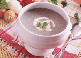 黒ごまの冷たいスープ