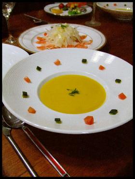 濃厚カボチャスープ