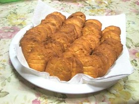 香ばしいピーナッツバターのクッキー